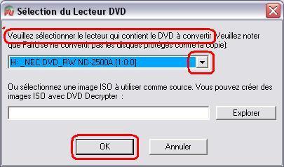 lecteur DVD source