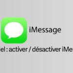 Activer ou Désactiver iMessage sur iPhone et iPad