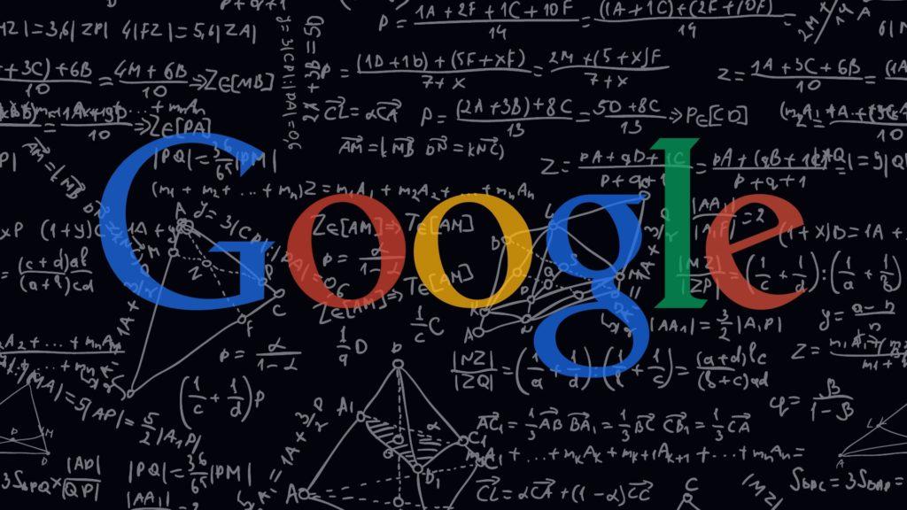 Alogorithme de Google