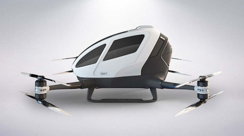 Drones taxis : 5 projets prometteurs