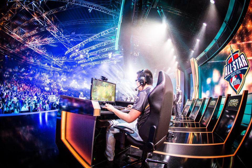 eSport, pratique intensive des jeux vidéo