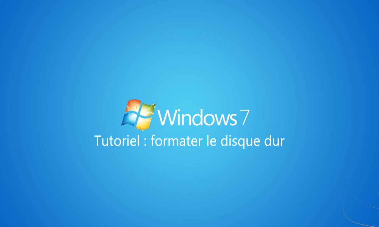 comment formater un disque dur pour Windows 8 installer