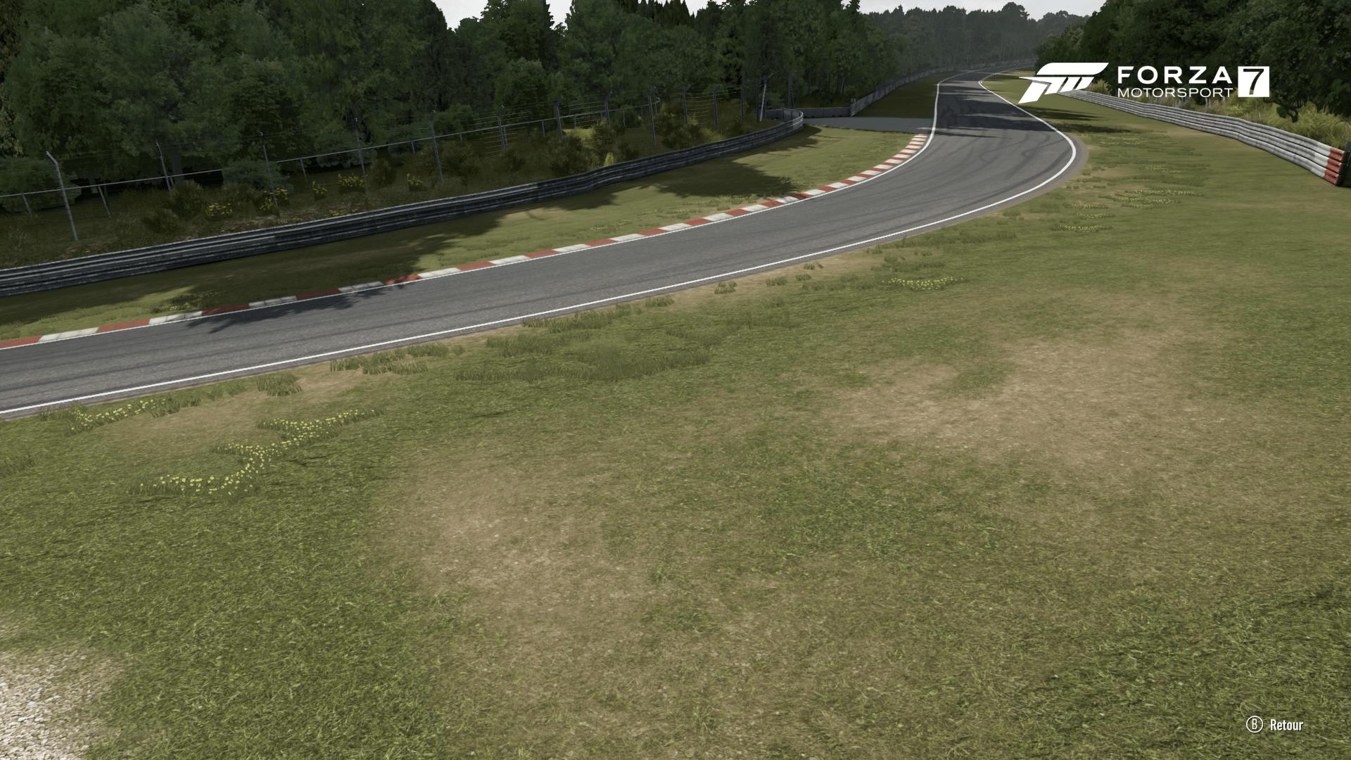 Graphismes Nurburgring Forza 7