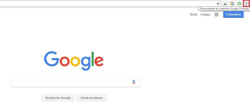 Personnaliser et contrôler Google Chrome
