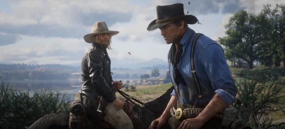 Red Dead Redemption 2 video de gameplay