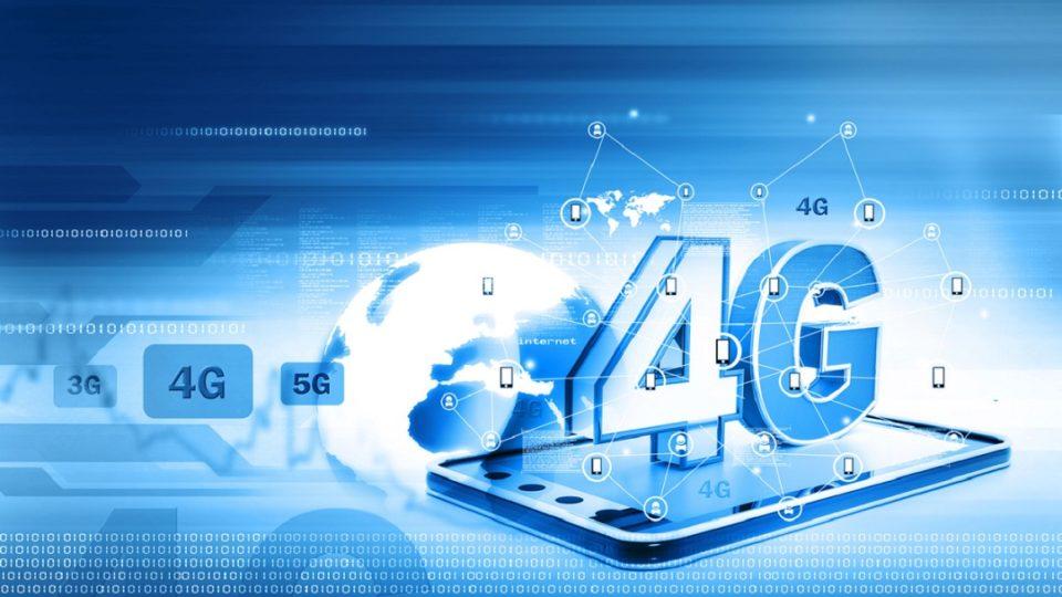 Signal internet 4g